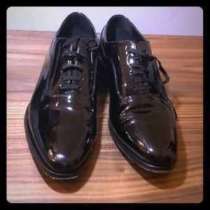 Suit Supply Patent Tuxedo Dress Shoes Size 7 (40)